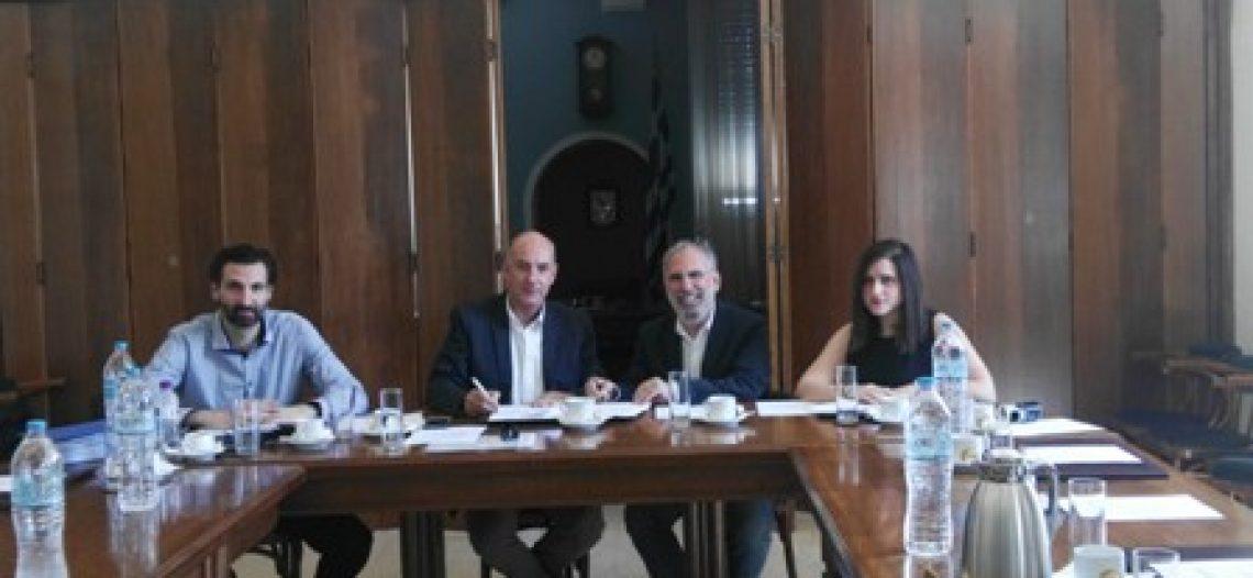 Υπογραφή Συμφωνίας Συνεργασίας Εμπορικού Συλλόγου Πειραιώς και Οργανισμού GEA
