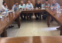 Συνάντηση με τον Δήμαρχο Πειραιά στα γραφεία του ΕΣΠ
