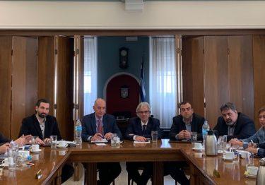 Συνάντηση με τον υποψήφιο Δήμαρχο Πειραιά Ν. Βλαχάκο και Δημοτικούς Συμβούλους