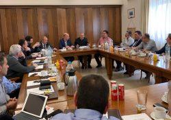 Συνάντηση με τον Δήμαρχο Πειραιά κ. Γ. Μώραλη