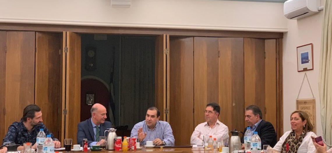 Σε ιδιαίτερα θετικό κλίμα η συνάντηση του ΕΣΠ με τον Βουλευτή κ. Κ. Κατσαφάδο