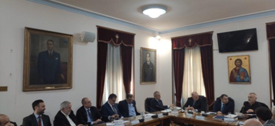 Συνάντηση συνεννόησης και συνεργασίας για την επενδυτική ανάπτυξη του Πειραιά