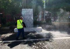 Προληπτική απολύμανση κοινόχρηστων χώρων της πόλης
