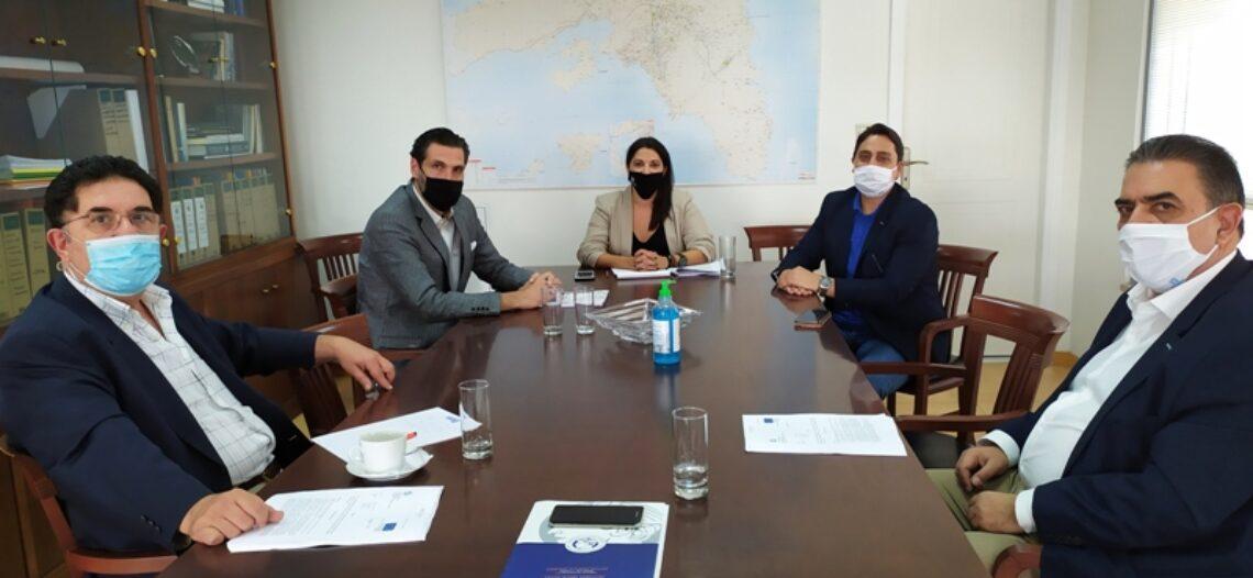 Συνάντηση με την Αντιπεριφερειάρχη Πειραιά κ. Σ. Αντωνάκου